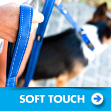 Dog soft touch leashes category picture.